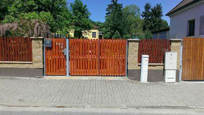 Brána na dálkové ovládání